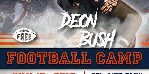Deon Bush Free Football Camp