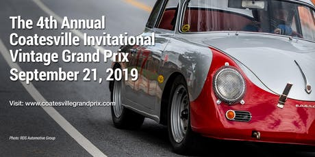 Coatesville Invitational Vintage Grand Prix tickets