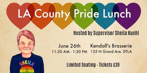 LA County Pride Lunch