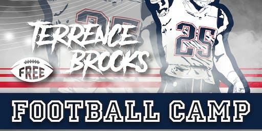 Terrence Brooks Free Football Camp