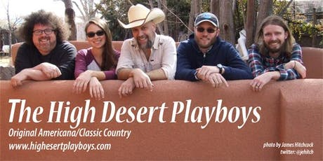 High Desert Playboys Dinner and Dance @ Sacred Grounds tickets