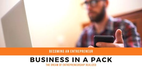 Becoming an Entrepreneur with Business in a Pack tickets