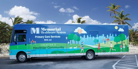 Memorial Healthcare System Adult Mobile Primary Care Center, Broward Outreach tickets