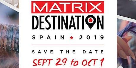 MATRIX CANADA EDUCATION - Matrix Destination Spain 2019 entradas