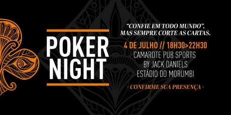 1º Poker Night 2019 ingressos