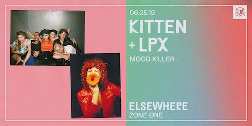 Kitten + LPX @ Elsewhere (Zone One)