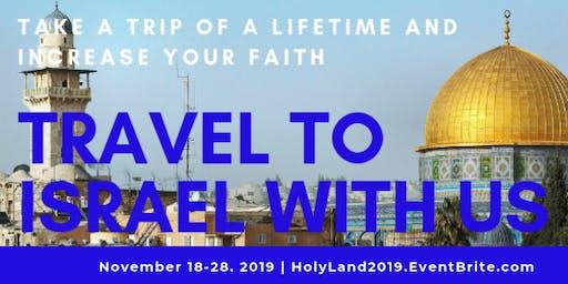 Holy Land Eductional Tour 2019