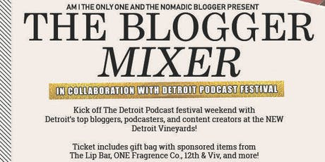Detroit Blogger Mixer  tickets