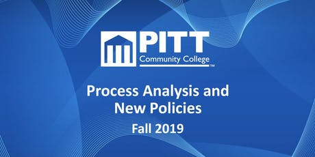 Process Analysis and New Policies tickets