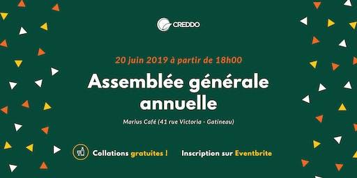 Assemblée générale annuelle du CREDDO