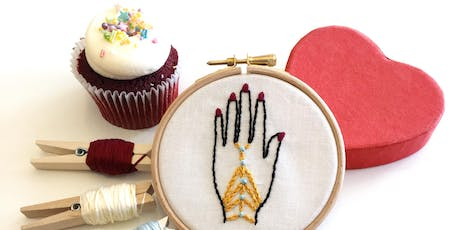 Crewelwork and Cake tickets
