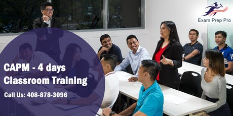 CAPM - 4 days Classroom Training  in Baltimore,MD tickets