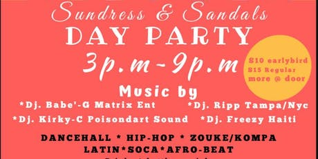 SUNDRESSES & SANDALS DAY PARTY tickets