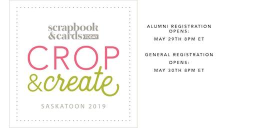 Crop & Create Saskatoon 2019