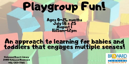 Playgroup Fun!