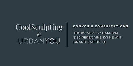 CoolSculpting Convos & Consultations tickets
