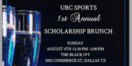 UBC SPORTS 1st Annual Scholarship Brunch tickets