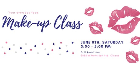 Everyday Face Make-up Class tickets