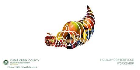 Holiday Centerpiece Workshop tickets