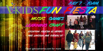 El Verbo Kids Fun Fiesta