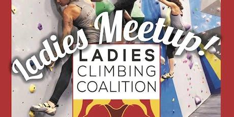 Ladies Meetup - Central Rock Gym Framingham tickets