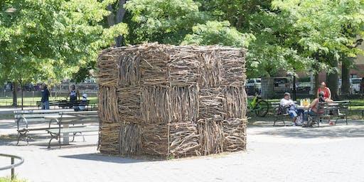Community Installation: Maren Hassinger, Monuments