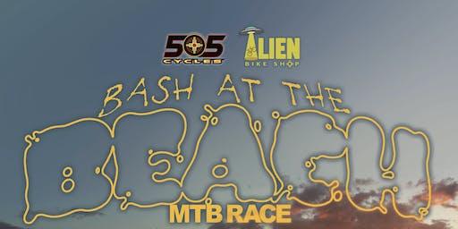 Bash at the  Beach  mtb race