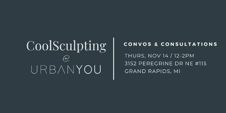 CoolSculpting Convos & Consultations tickets