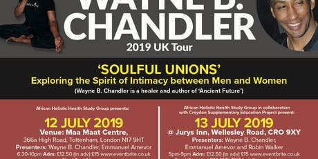 Soulful Unions Exploring the Spirit of Intimacy between Men and Women tickets