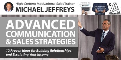Motivation Evening Featuring Guest Speaker Michael Jeffreys