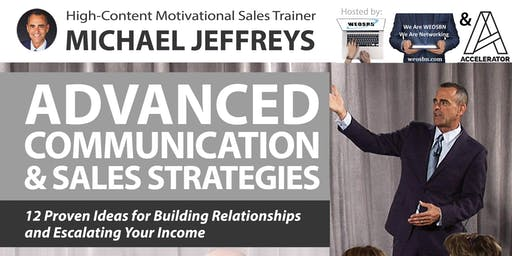Motivation Evening Featuring Guest Speaker Michael Jeffreys