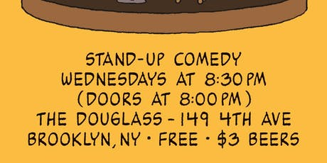 The Fancy Show - Stand-Up Comedy at The Douglass - JUNE 19TH tickets