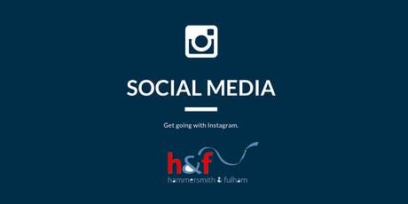 Social Media – get going with Instagram. tickets
