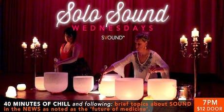 Solo Sound Wednesdays tickets