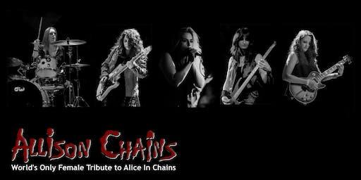 Allison Chains supporting Bon Jovi & Van Halen Tributes @ Canyon SCV