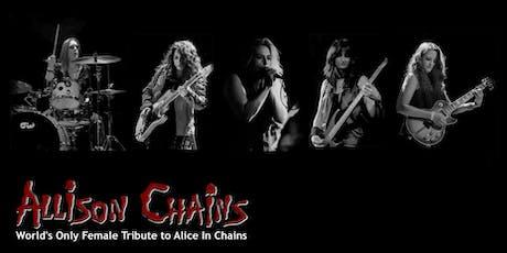 Allison Chains supporting Bon Jovi & Van Halen Tributes @ Canyon SCV tickets