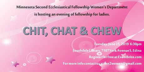Chit, Chat & Chew (MN2 Women) tickets