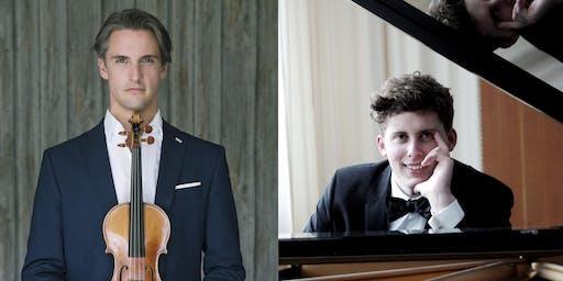 CONCERT:  June 27, 2019 - 7.30 pm | Johannes Fleischmann & Oscar Micaelsson