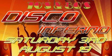 70's & 80's Disco Inferno tickets