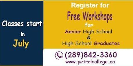 Petrel Workshop: Automation & Control tickets
