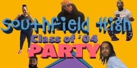 Southfield High class of 2004 Reunion tickets