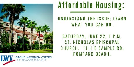 Affordable housing: Understand the issue; learn what you can do. tickets