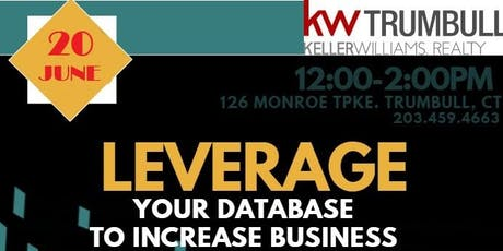 Matthew Steer & Rachel Kelly: Leveraging Your Database to Increase Business tickets