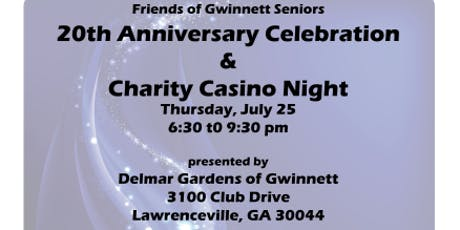 Friends 20th Anniversary Celebration & Charity Casino Night tickets