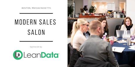"Modern Sales Pro Salon - Boston #9 - ""Building Your Revenue Ops Framework"" Night  tickets"