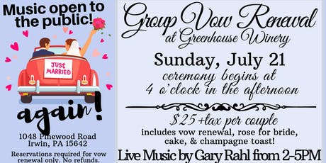 Group Vow Renewal tickets
