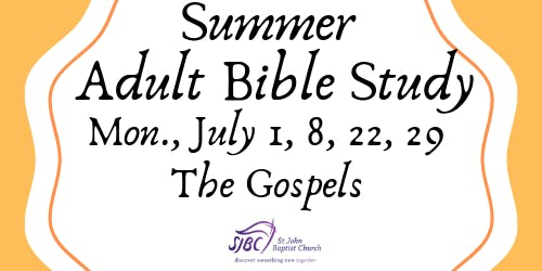 Summer Adult Bible Study