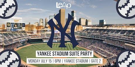 Yankee Stadium Suite Party tickets