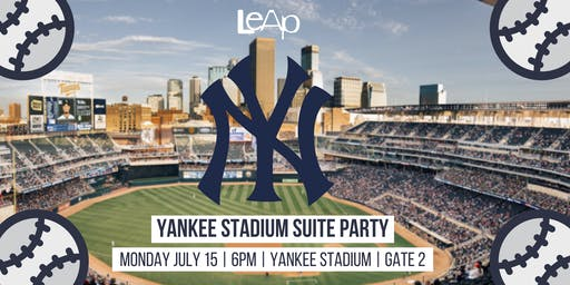 Yankee Stadium Suite Party