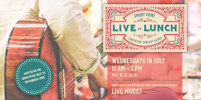Live at Lunch: A Free Music Series